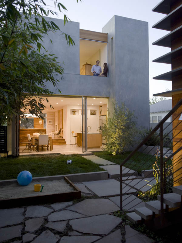 Inside-Out House in Marina del Rey, CA by glynn designbuild