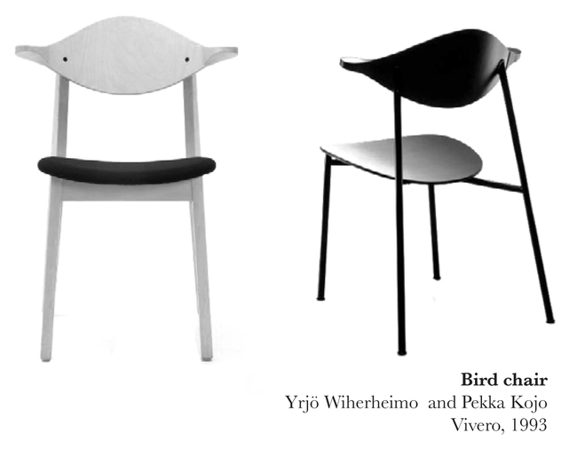 Bird Chair by Yrjö Wiherheimo/Pekka Kojo, 1993, photo by Julie Scheu