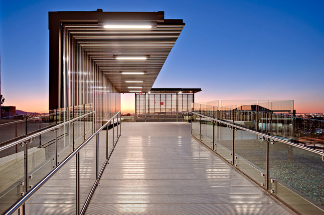 Shade Platform; Phoenix, AR by SmithGroupJJR (Photo: Liam Frederick)