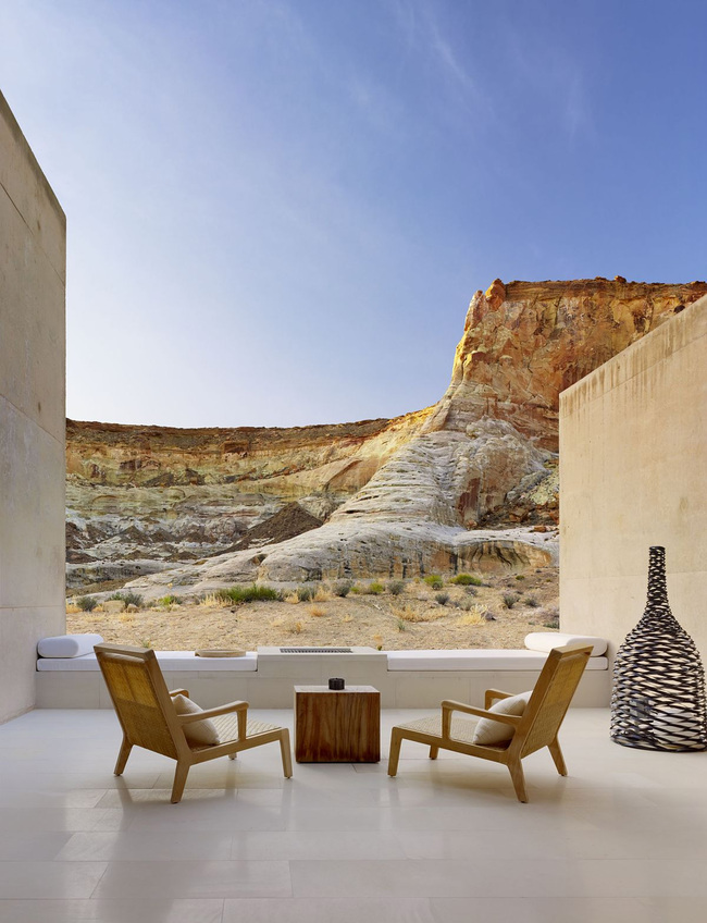 Amangiri Resort + Spa in Canyon Point, UT by Marwan Al-Sayed Inc. Architecture + Design, Wendell Burnette and Rick Joy; Photo: Joe Fletcher
