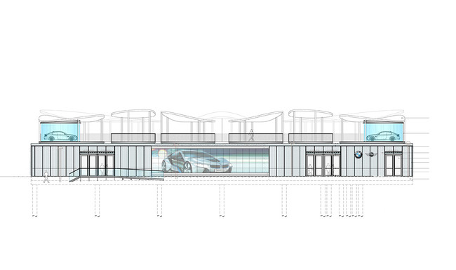 West elevation (Image: Serie Architects)
