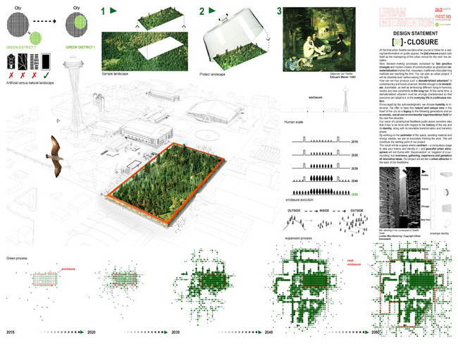 Competition winner: 'In-Closure' by ABF (France)
