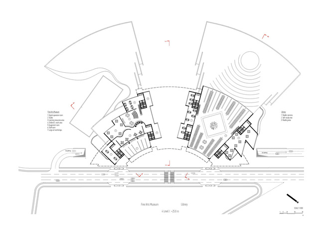 Plan, level 4 (Image: Architecton)