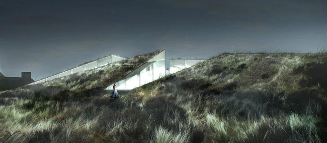Blåvand Bunker Museum by BIG in Varde, Denmark. Image: BIG