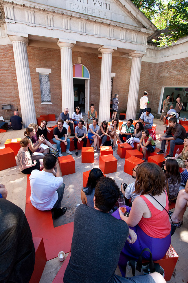 Special Mention: USA Pavilion: Spontaneous Interventions: Design Actions for the Common Good (Photo: Francesco Galli)