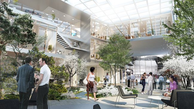 Interiorr rendering (Image: Henning Larsen Architects)