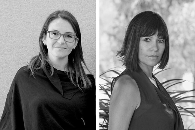 L to R: Gabriela Carrillo and Rozana Montiel. Image via Architects' Journal/Twitter.