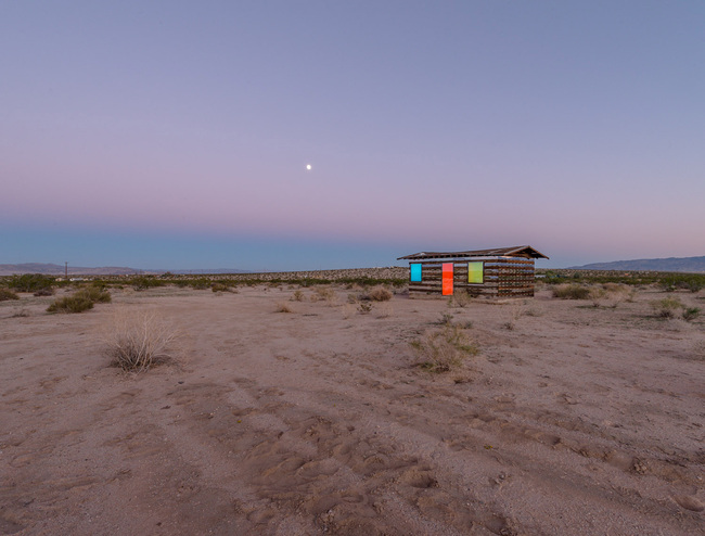 Lucid Stead by Phillip K. Smith, III. Photo: Steve King.