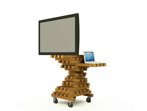 tv-cart via Farid Rakun