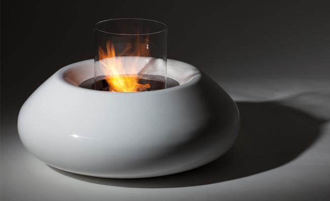 Bubble Commerce by Planika, bio fireplace on ethanol