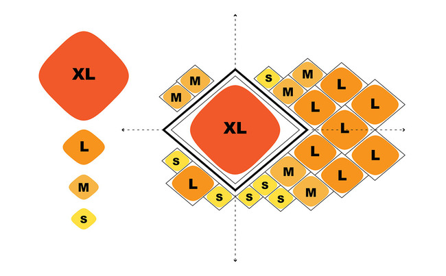 Concept of the cell structure (Image: Henn Architekten)