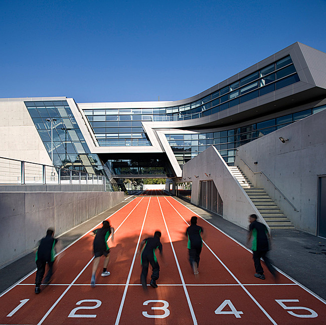 Shortlisted: Evelyn Grace Academy, London, UK by Zaha Hadid (Photo: Luke Hayes)