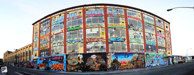 5 Pointz, image via http://urbnfresh.com/wp-content/uploads/2013/08/5-Pointz-Location-Shot-2.jpg