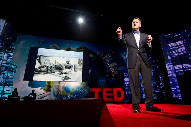 Harvard economist Edward Glaeser at TED2012: How cities make us smarter (Photo: James Duncan Davidson)