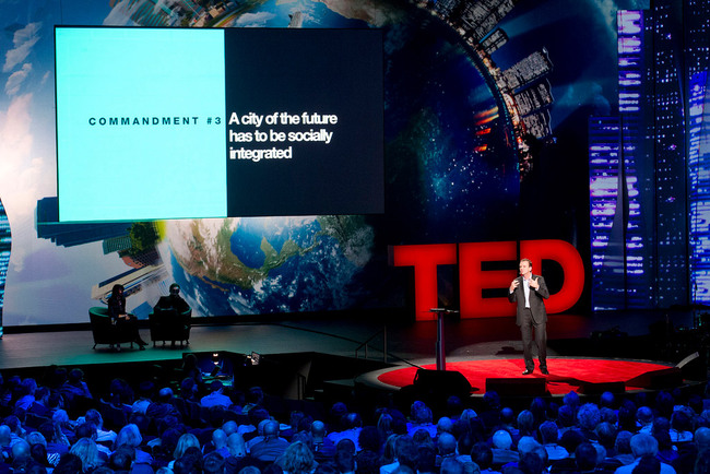 Mayor of Rio de Janeiro Eduardo Paes at TED2012: Four commandments for cities of the future (Photo: James Duncan Davidson)