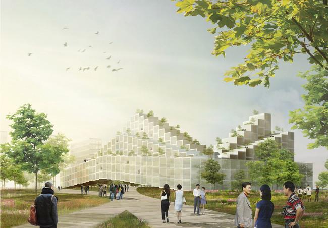 Rendering, Residential (Image: HAO/Archiland Beijing)