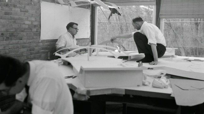 "Screenshot from ""Eero Saarinen: The Architect Who Saw The Future"""