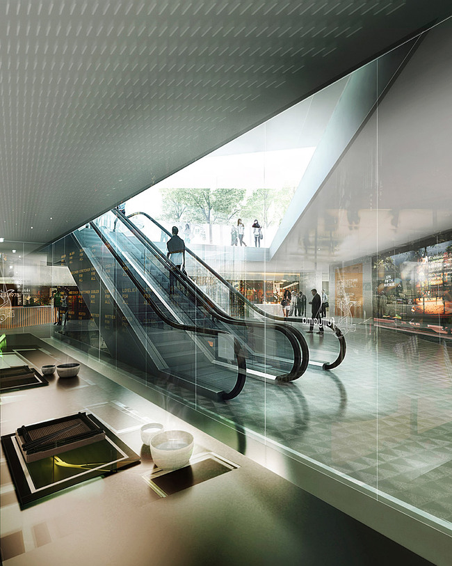 Visualization, lobby interior (Image: schmidt hammer lassen architects)