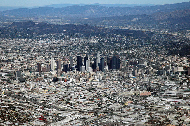 Court rulings that California developers can be required to include low-income housing units could help Los Angeles and other cities address housing shortages. Credit: Wikipedia