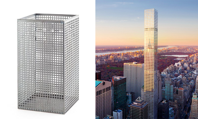 Rendering of 432 Park Avenue by DBOX for CIM Group & Macklowe Properties.