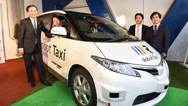 Robot Taxi. Image via qz.com.
