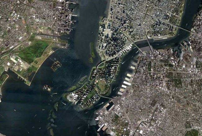 Proposed map of LoLo, or Lower Lower Manhattan. (Image via theawl.com)