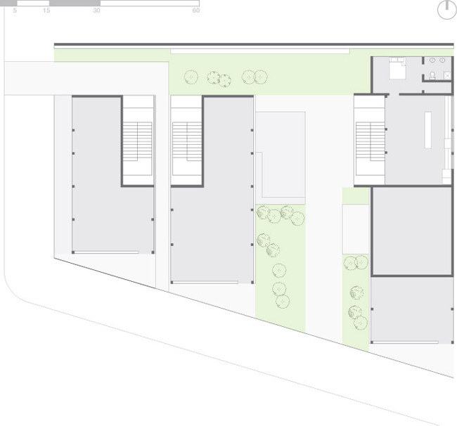 Plan - ground floor (Image: Eric Laine & Suzanne Steelman)