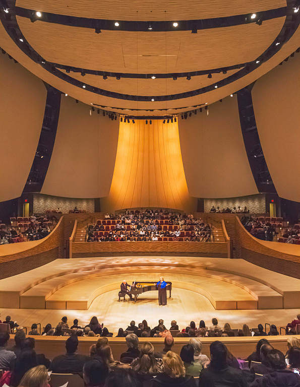 Architecture Merit Award Winner: Stanford University, Bing Concert Hall in Stanford, CA by Ennead Architects (Image Credit: © Jeff Goldberg/Esto)