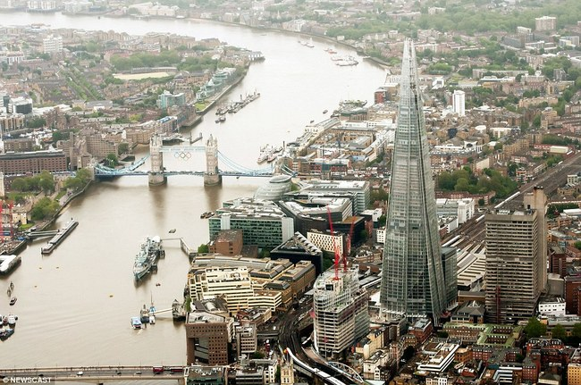 The Shard via NEWSCAST