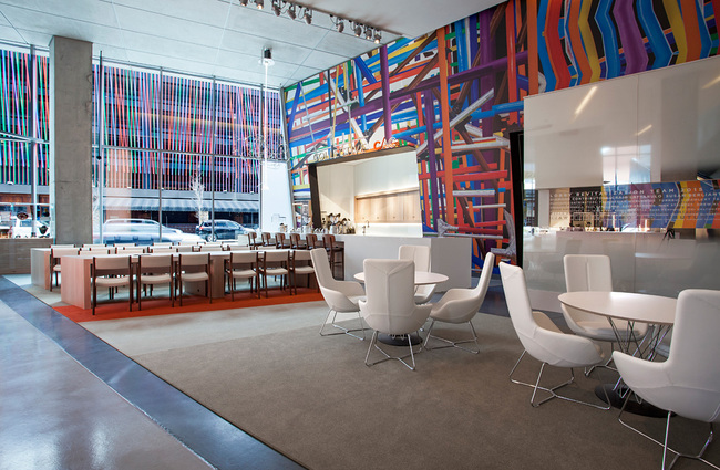 Contemporary Arts Center Lobby. Photo courtesy of FRCH Design Worldwide.