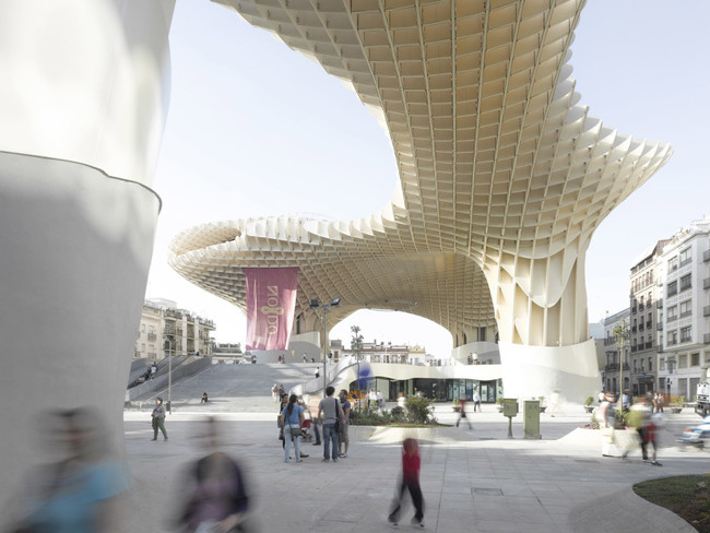 One of 20 buildings WIRED lists as the 'future of architecture': J. Mayer H.'s Seville parasol. (Image via wired.com)