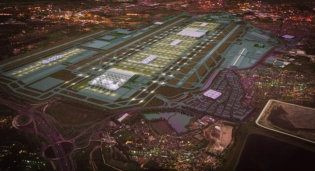 Grimshaw's winning design for the Heathrow expansion - Image Heathrow/Grimshaw