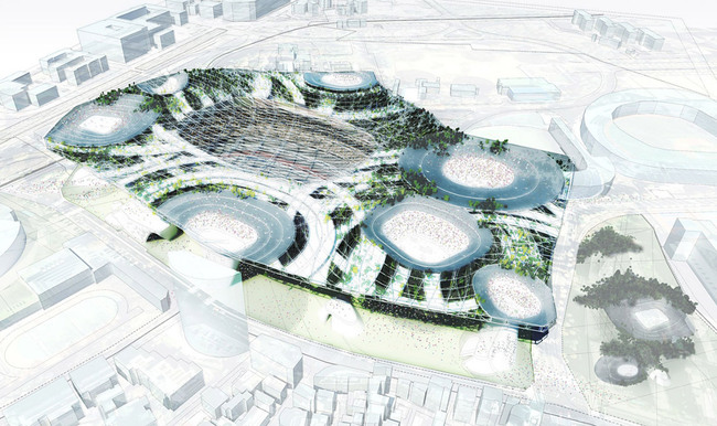 Populous (Image: Japan Sport Council)