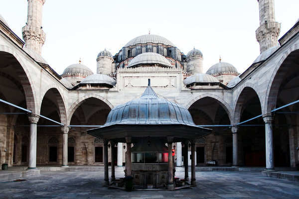 Sehzade Mosque by Sinan photo by Piotr Redlinski for the New York Times