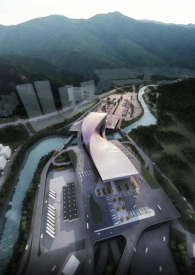 Aerial view (Image: WAU Design)