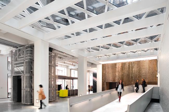 Sheila C. Johnson Design Center (SJDC) - Parsons by Rice+Lipka Architects