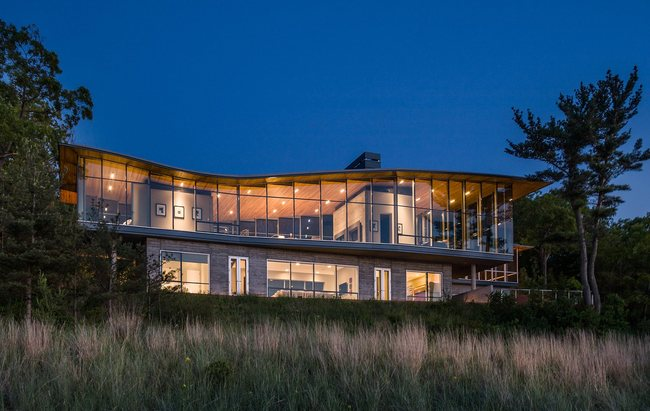 Beverly Shores Residence by Booth Hansen.