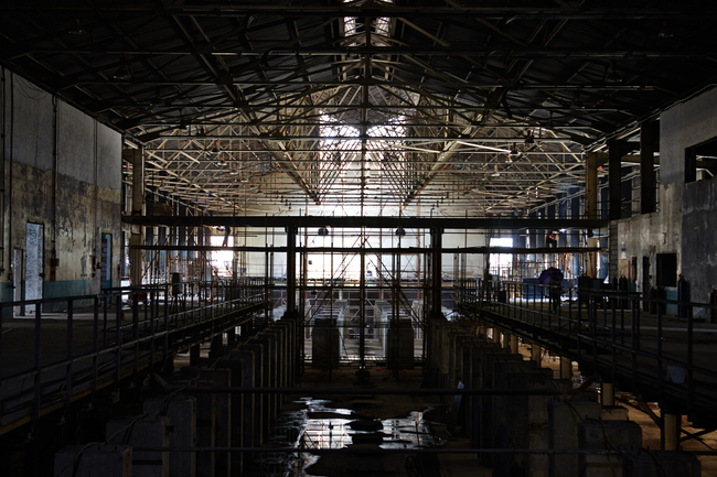 Warehouse renovation by the Shekou ferry terminal, image courtesy of UABB.