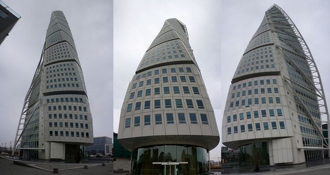 The Turning Torso from various angles