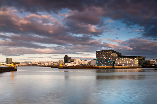 Harpa, the Reykjavik Concert Hall and Conference Center by Henning Larsen Architects, Batteríið Architects and Studio Olafur Eliasson (Photo: Nic Lehoux)