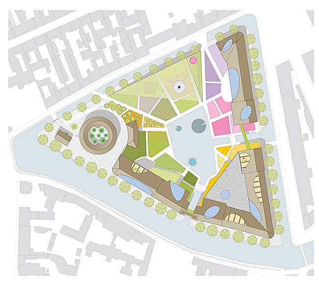 Site plan (Image: WORKac)