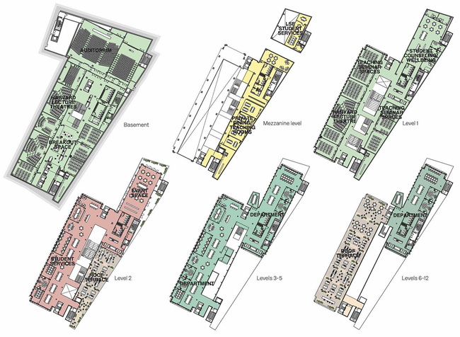 Floor plans. Image courtesy of RIBA.