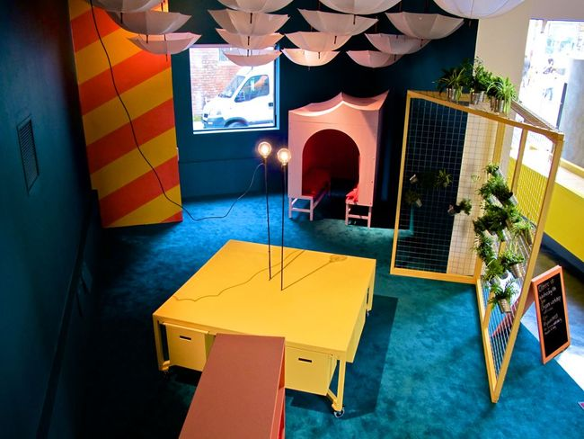 """Madlove: A Designer Asylum"". Photo courtesy of James Leadbitter, via Slate."