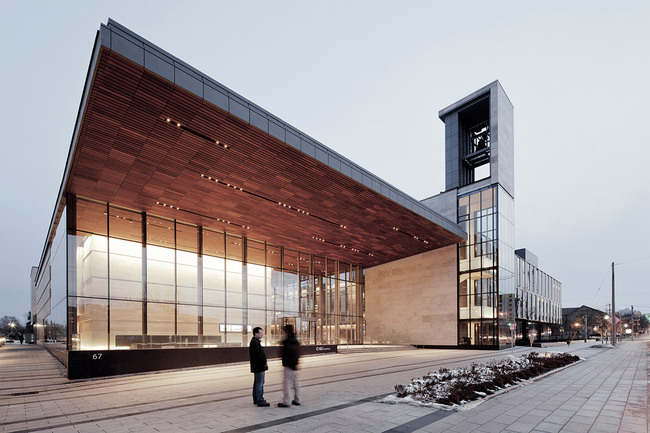 Balsillie School of International Affairs, CIGI Campus, Canada - Kuwabara Payne McKenna Blumberg Architects (Photo: Maris Mezulis)