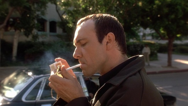 "Spoiler alert: Kevin Spacey is Keyser Soze. Screenshot from ""The Usual Suspects,"" courtesy 3brothersfilm.com."