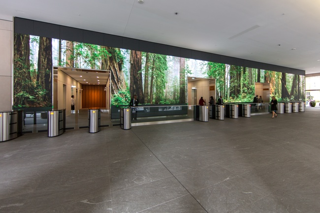 Check Out This Stunning 108 Feet Long Video Wall By Obscura