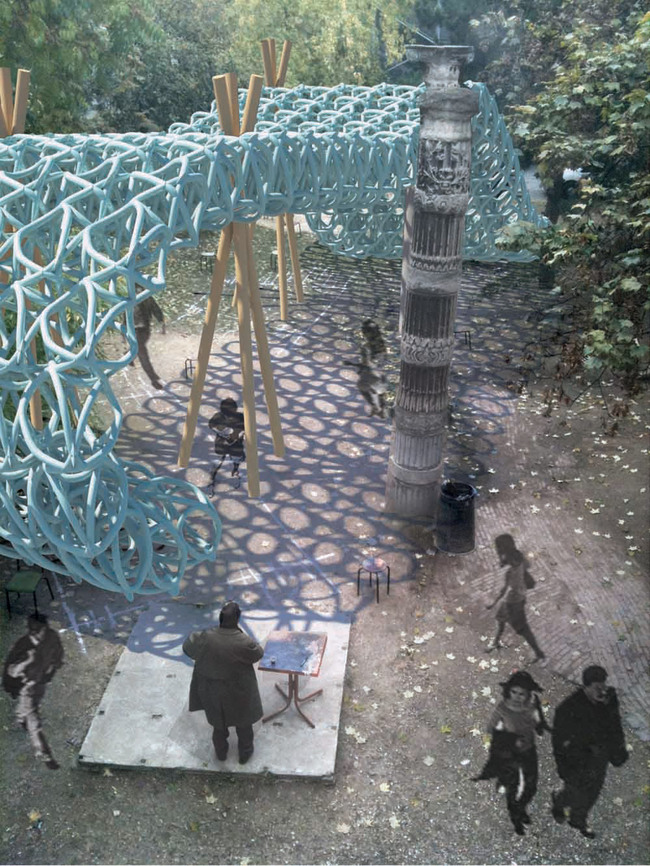 Winner of the Pavillon Spéciale 2012 Competition: Ball Nogues Studio