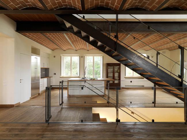 Podere Bedano in Casale Marittimo, Italy by Vittorio Grassi Architetto and Partners; Photo © Vittorio Grassi Architetto & Partners