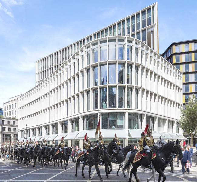 One New Ludgate by Fletcher Priest Architects. Photo courtesy of The City of London Building of the Year.