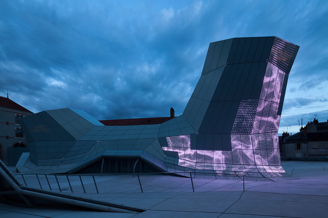 Architecture - FRAC CENTRE - LES TURBULENCES - Designed by Jakob + MacFarlane. Photo by Nicolas Borel
